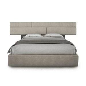 bedroom plank bed