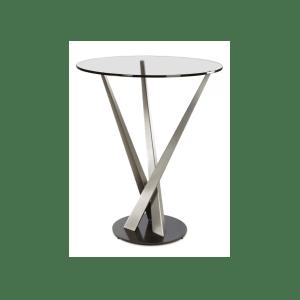 crystal bar table