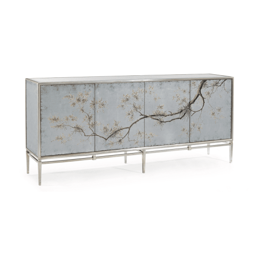 dining room falling branch credenza