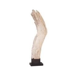 accessories teak sculpture 20-inch