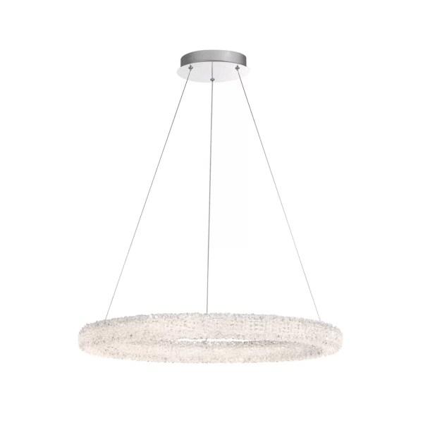 lighting sassi 27-inch round chandelier