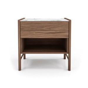 bedroom friday 1-drawer nightstand