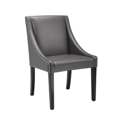 lucille dining chair in grey