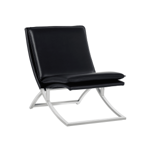 living room hunter chair black