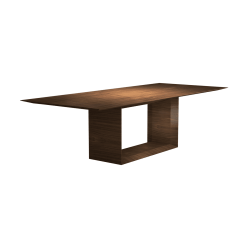 dining room greenwich 106-inch table walnut
