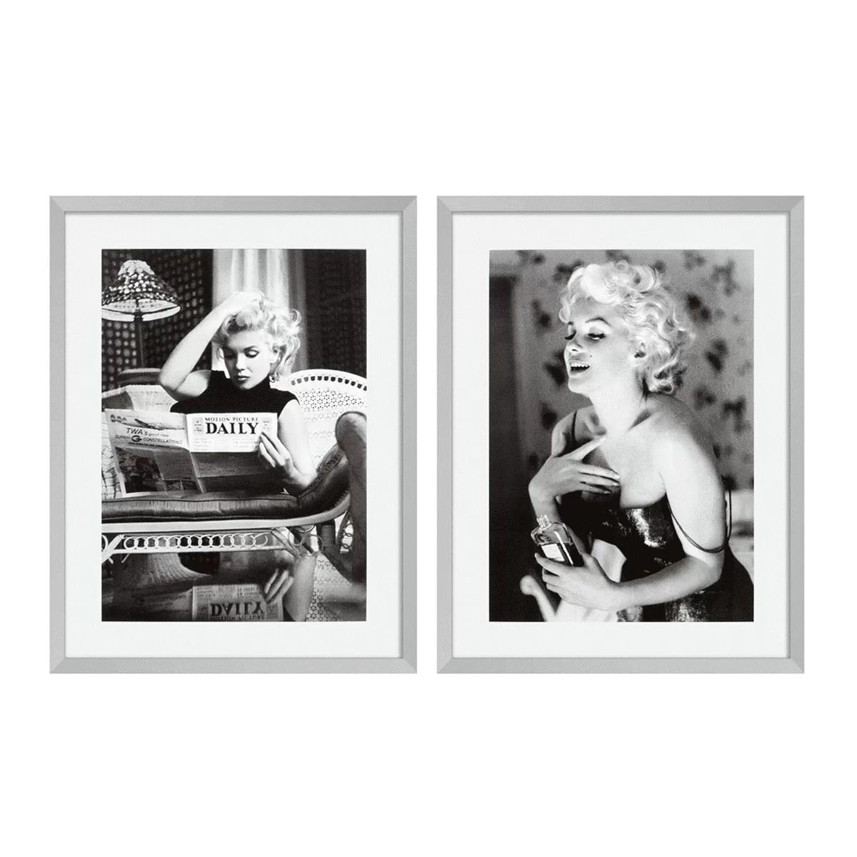 Постеры для интерьера мерлин монро