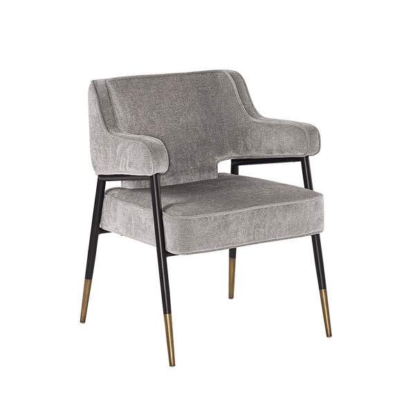 dining chair derome armchair fabric