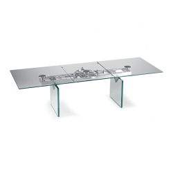 dining room aurelia rectangular table glass