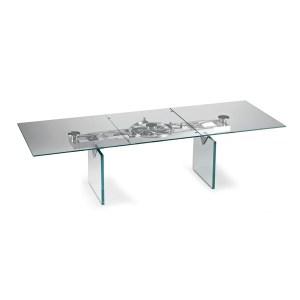 dining room aurelia rectangular table glass