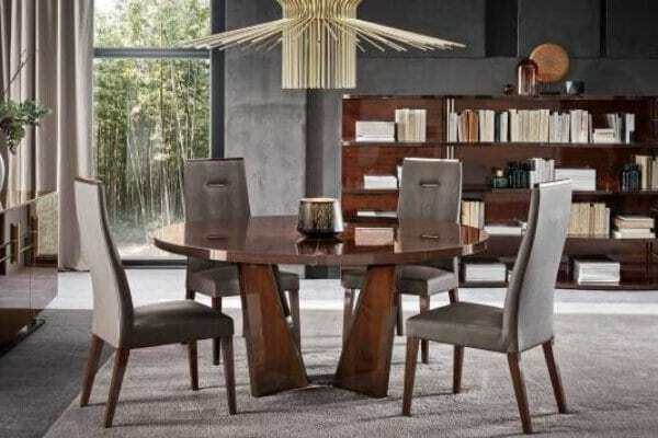 luxury dining set from Markham furniture store