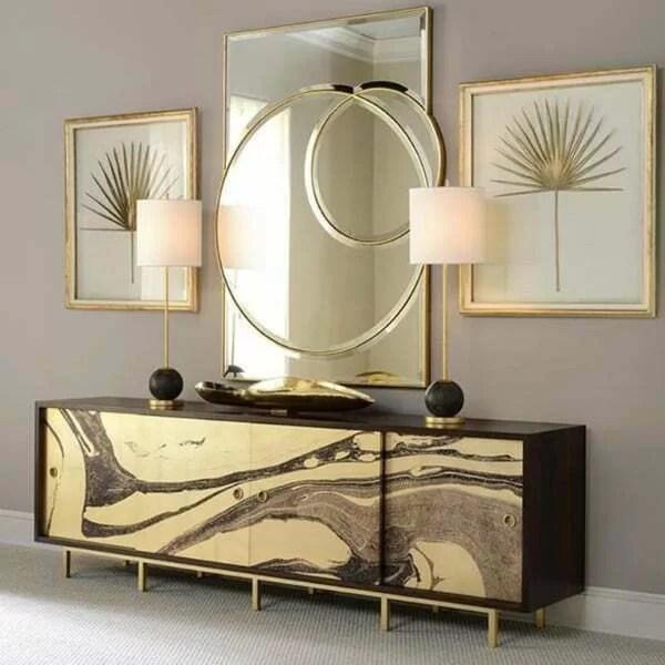 modern furniture in hamilton home