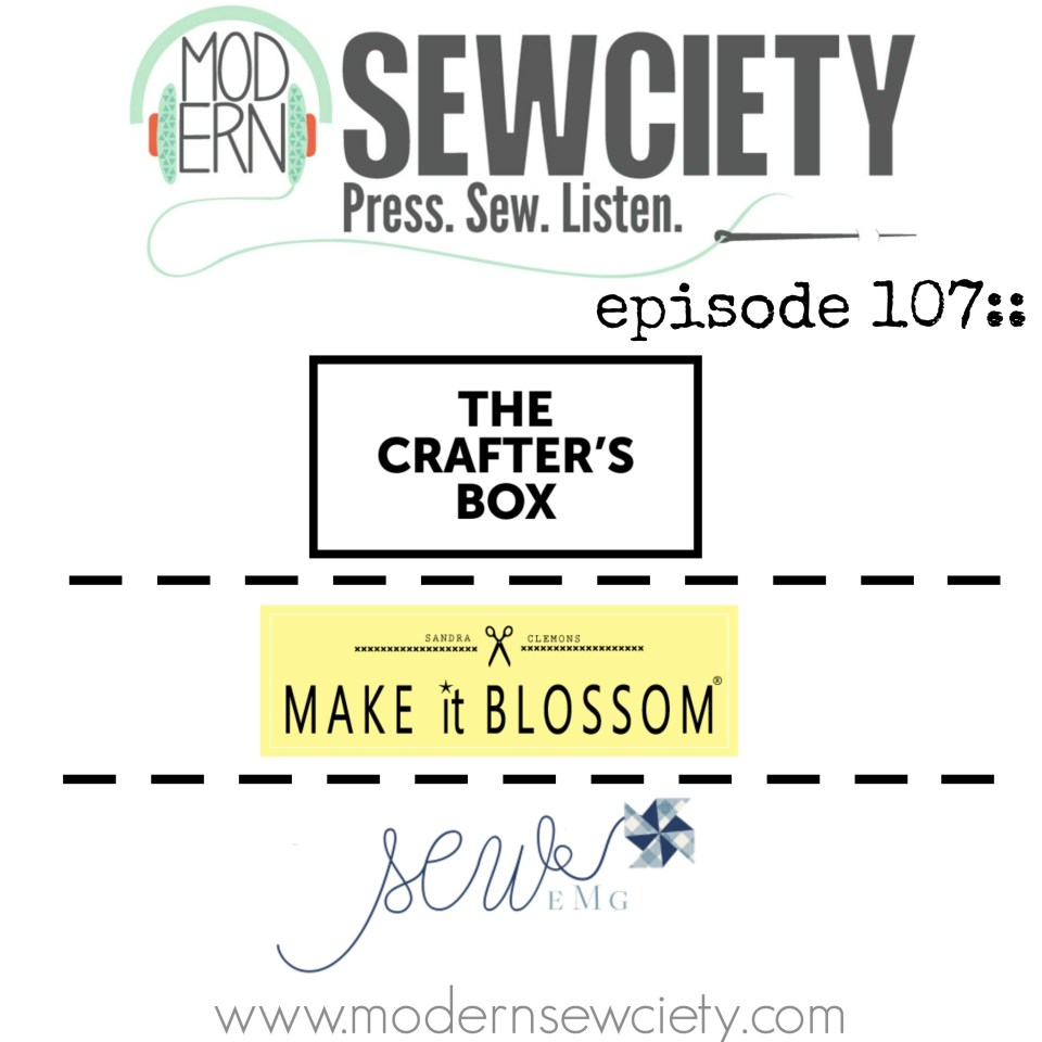 the crafter's box, sandra clemons, sewEMG podcast