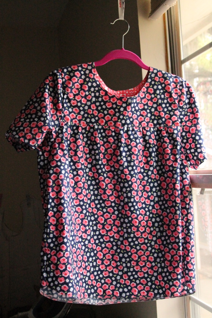 maple blouse sleeved version