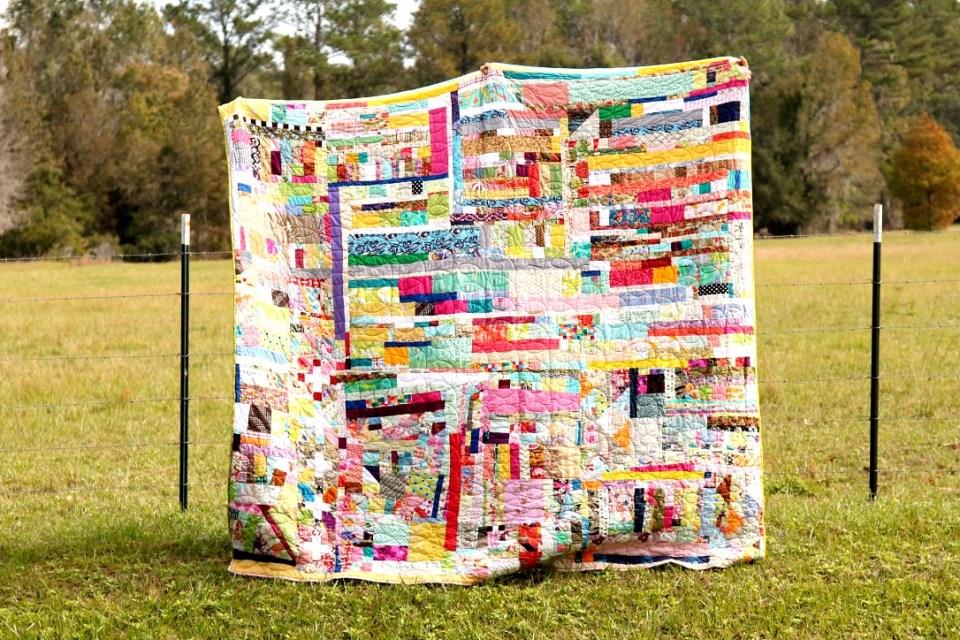 scrap bin quilt