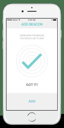 mockup - add beacon