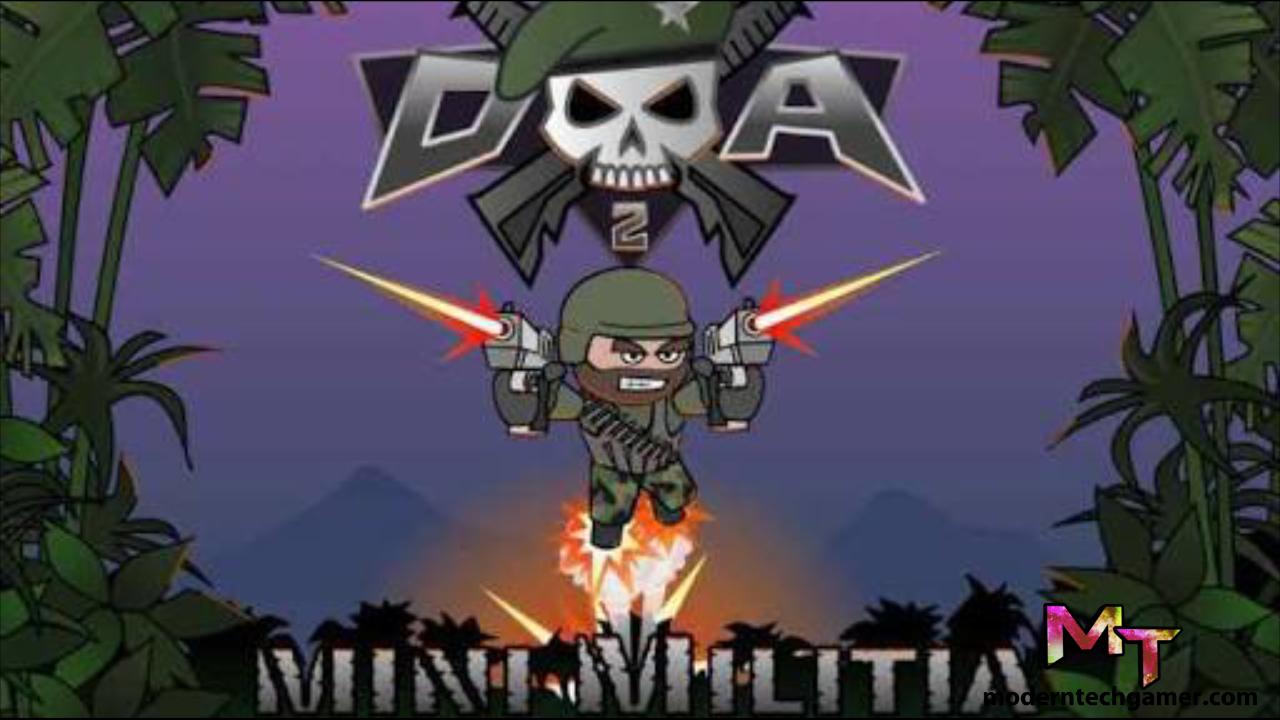 Doodle Army 2 : Mini Militia 4.1.1 Apk + Mod For Android