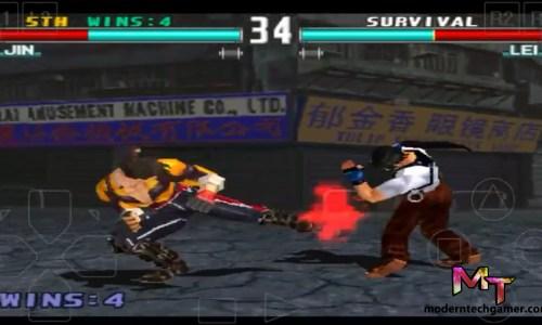 %tekken 3 gameplay screen shot