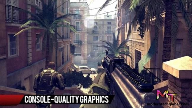 %modern combat 4 gameplay screen shot