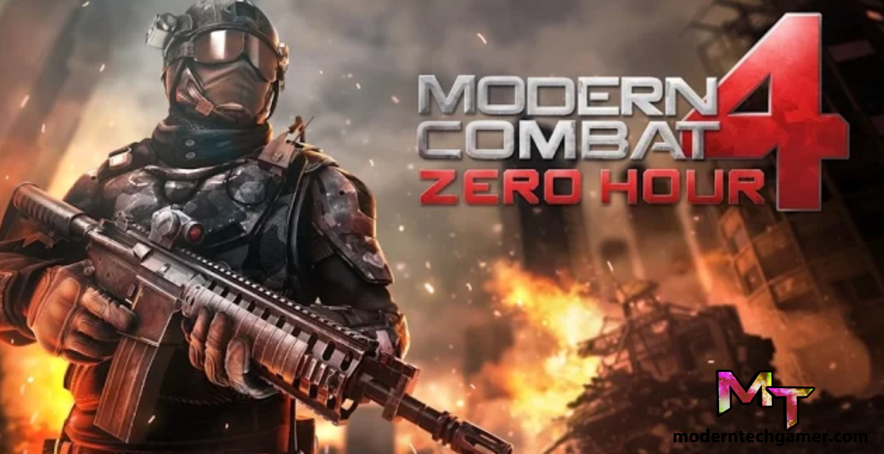 Modern Combat 4 Zero Hour v1.2.2e Apk + Mod + Data Download For Android