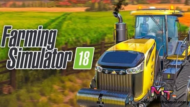 Farming Simulator 18 v1.2.0.4 Apk + Mod [Unlimited Money] + Data Free Download