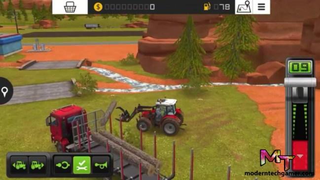 %farming simulator 18 gameplay screen shot