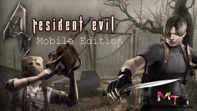 Resident Evil 4 v1.01 Apk + OBB Data [Mobile Edition] Download For Android
