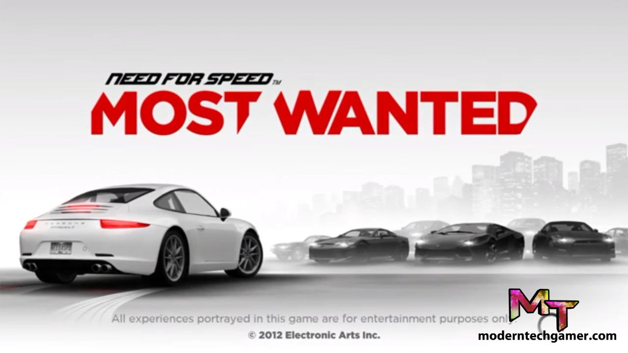 Need For Speed Most wanted v1.3.100 Apk +Mod+OBB Data Free Download For Android