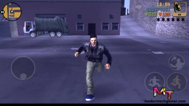 %gta 3 gameplay screen shot