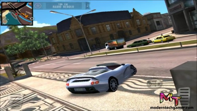 %Gangstar Rio: City of Saints gameplay screen shot