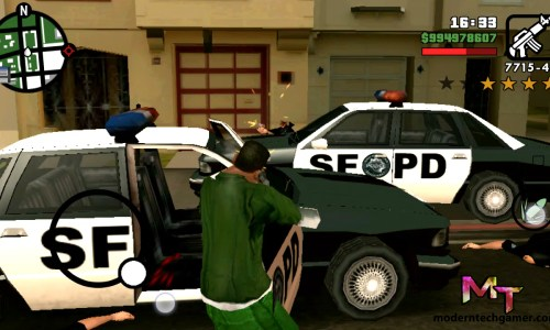 GTA San Andreas Apk + Data Highly Compressed Download For