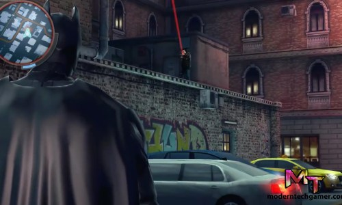 the dark knight rises gameplay screen shot 2