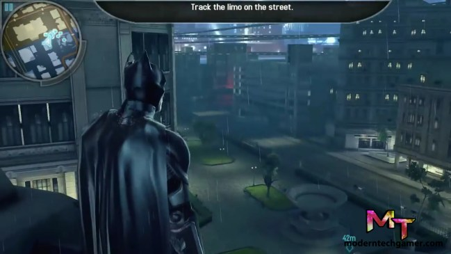 the dark knight rises gameplay screen shot 4