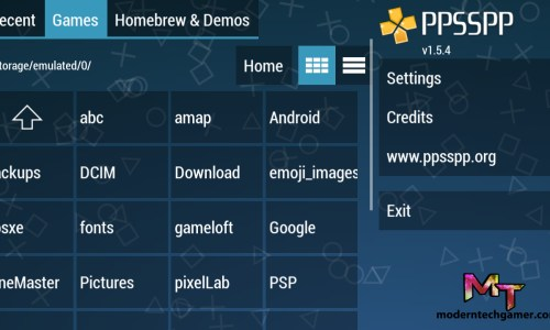 PPSSPP Gold Apk screen shot 2