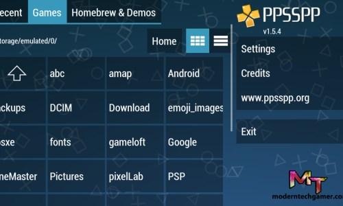 PPSSPP Gold Apk screen shot 2