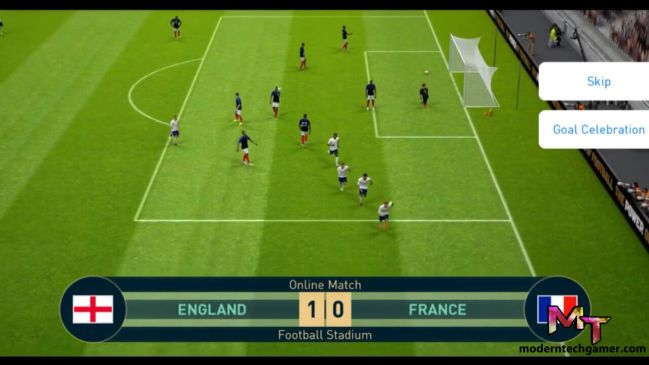 pes 2019 apk gameplay 3