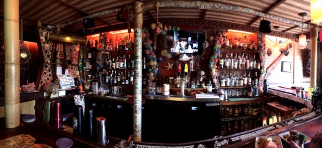 Panoramic Shot of The VenTiki Bar