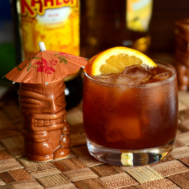 Coffee Break, a tiki cocktail