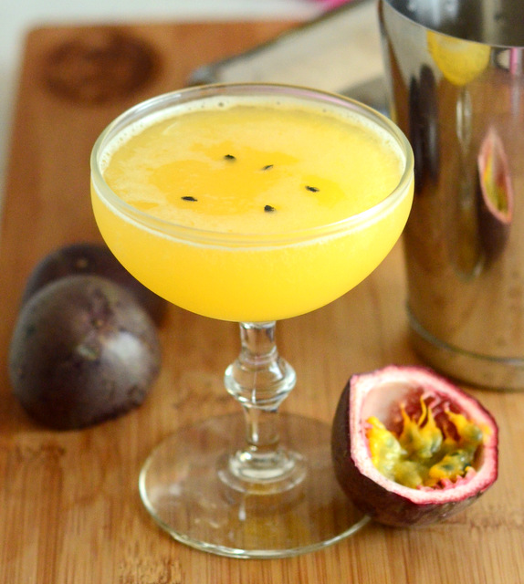 Fresh Passion Fruit Daiquiri