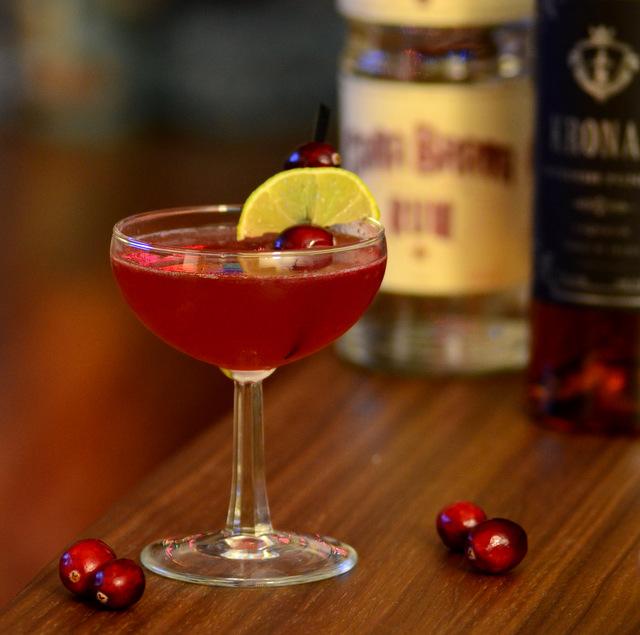 Jul Daiquiri, a holiday rum cocktail