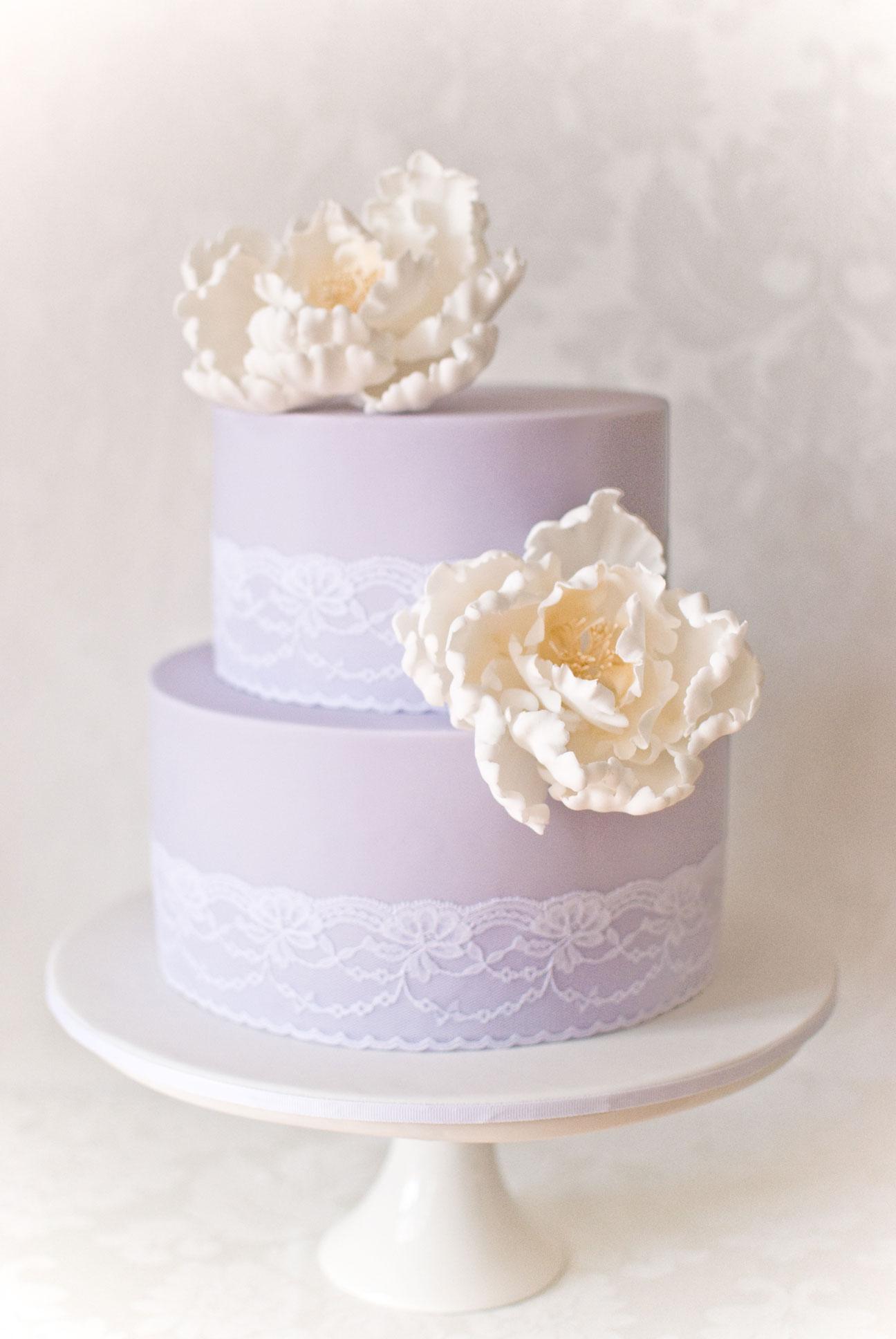 A Purple Pop Modern Wedding