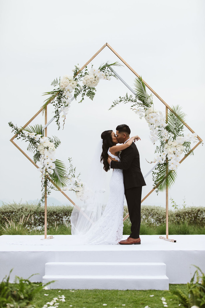 Renee and Aaron's Captivating Destination Wedding - Modern Wedding
