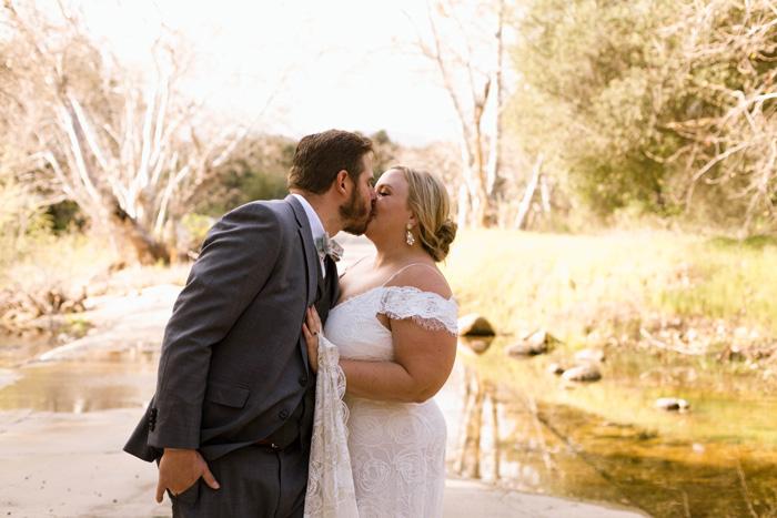 Blaire and Tim Say 'I Do' Over Zoom - Modern Wedding