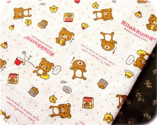 cute Rilakkuma fabric