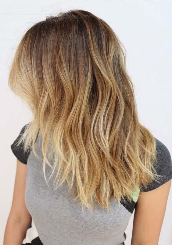 Modeshack Blog Archive Blond Ombre Medium Length