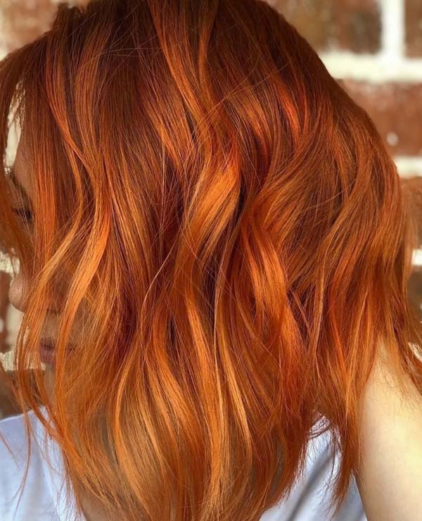 38 Hottest Fiery Copper Red Hair Color Ideas For 2018