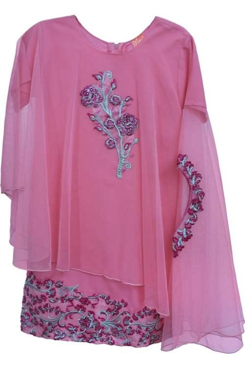 Girls Floral Design Dress