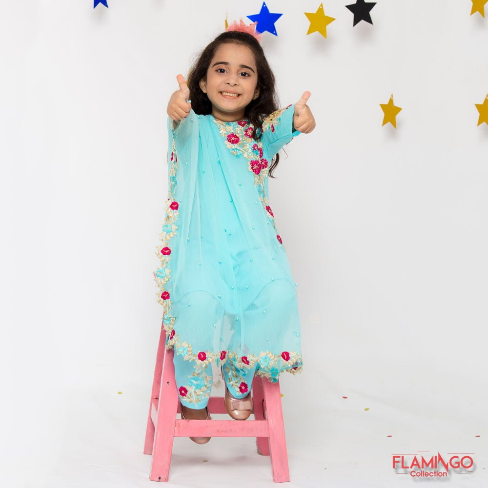Kids Cool Cape Dresses