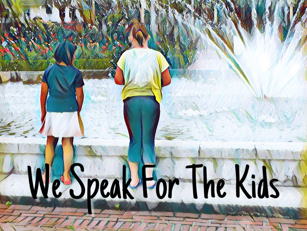 We Speak for the Kids