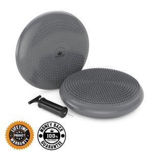 Stability ball, balance disk, fidget