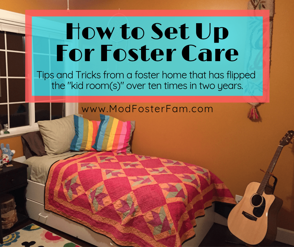 How to Set Up a Bedroom for Foster Care